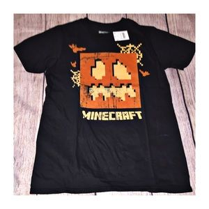 Minecraft Halloween T-Shirt Size L